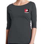 Ladies Perfect Weight ® 3/4 Sleeve Tee